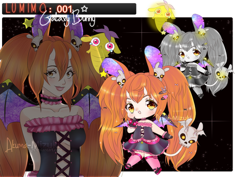 Lumimo 001 | Galaxy Bunny | OPEN