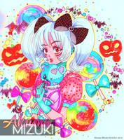Zombie Candy Girl - Halloween