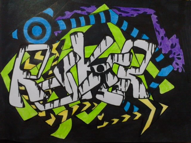 Rocker graffiti by art josh on deviantart rocker graffiti by art josh altavistaventures Image collections