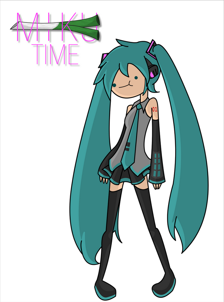 Adventure Time Drawing Style Hatsune Miku Adventure...