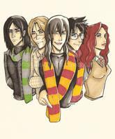 HP - Marauders Era 1 by DraconisCrescendo
