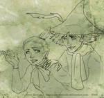 Moomins - Snoofkin - Little My