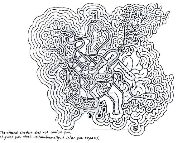 Maze 1 with subway template by mazedesigner on DeviantArt