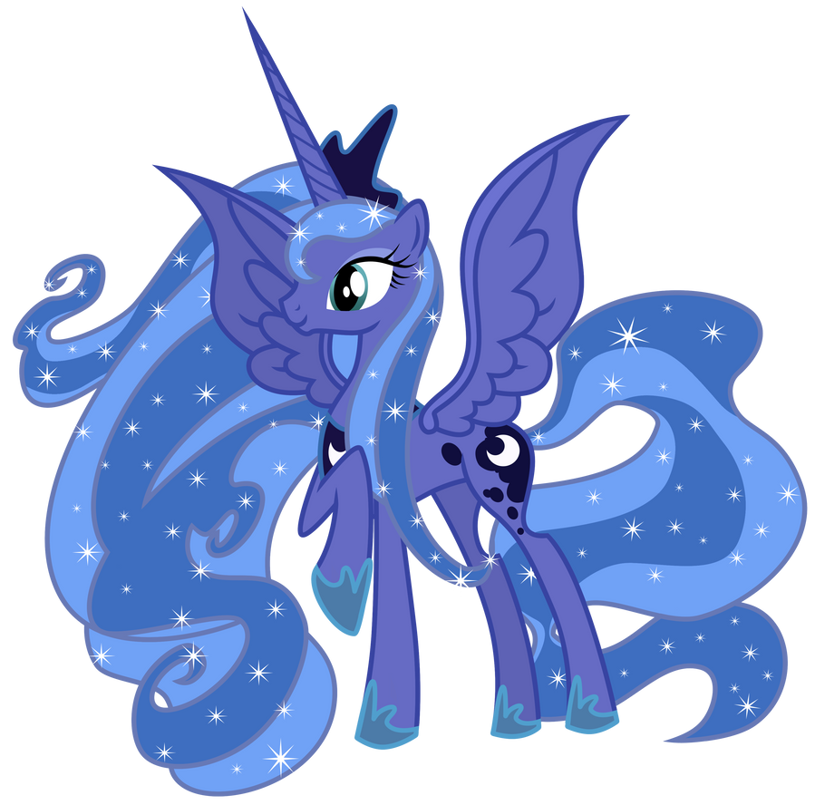 Princess Luna by Sunley on DeviantArt