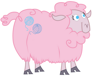 MLP FiM: Woolly by Sunley