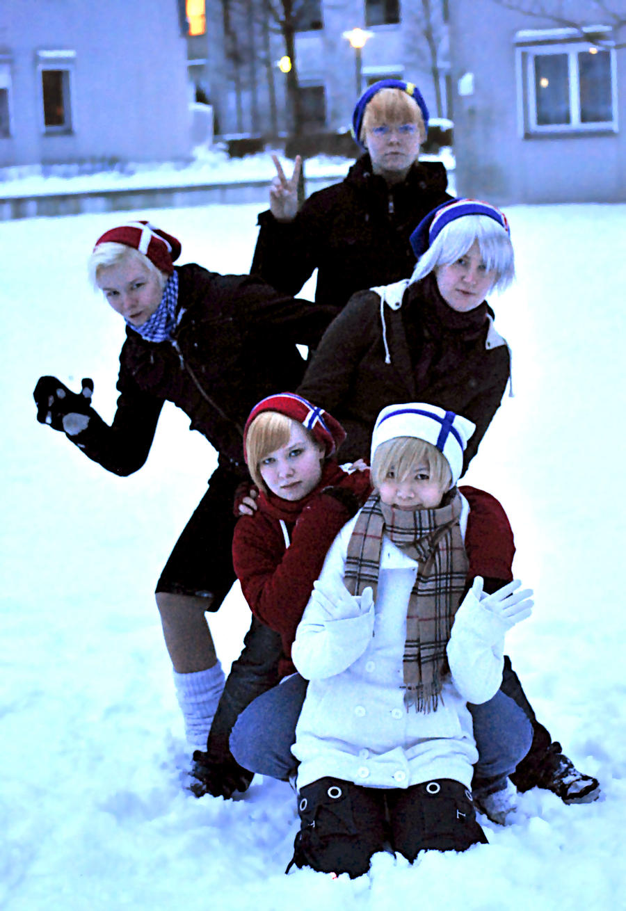 APH - Nordics by Yuki-Haruka