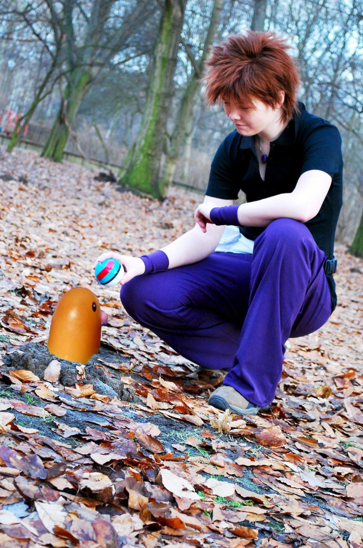 Pokemon - Gary-Shigeru by Yuki-Haruka on deviantART