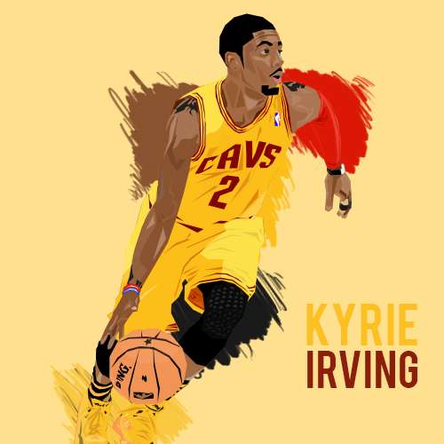 Gallery Kyrie Irving Drawing Dunking Wallpaper