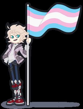[OC] Matti Says Trans Pride!