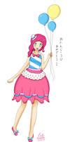 MLP - Pinkie Pie Human by NekoHanonx3