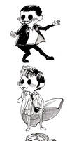 9th 10th  11th Doctors' chibis