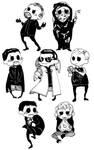 Master's chibis