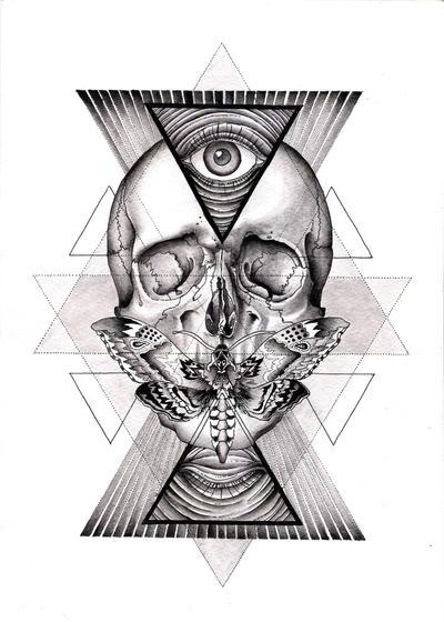 skull by orookayasu