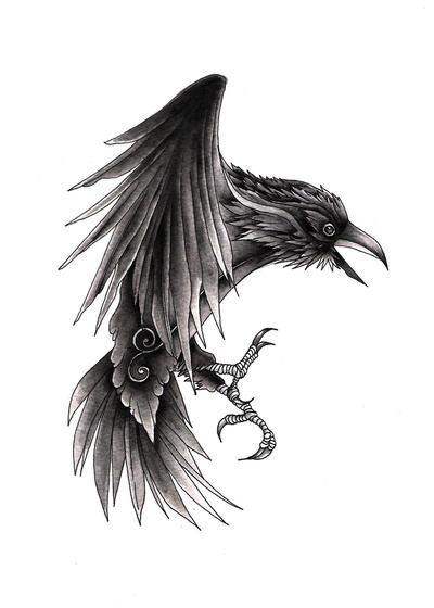 raven by orookayasu