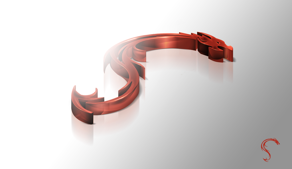 S Logo 3d Dragon-3D logo by Magi...