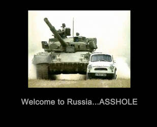 Welcome to Russia by Nicetro