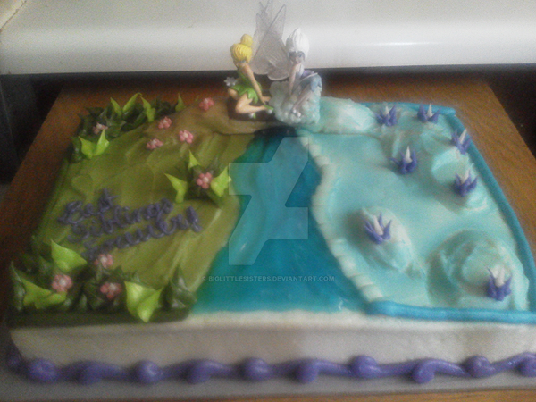 TinkerBell Periwinkle Cake Best Siblings Forever by ...