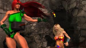 Knockout Vs Ultra Woman Part 3 by Mr-Hypnotyk