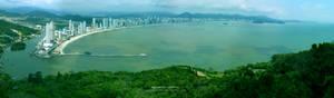 Vista panoramica Camboriu