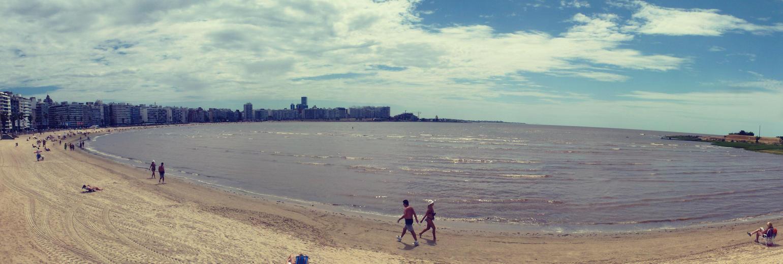 Playa de Pocitos, Montevideo. UY by Gabrielb1984
