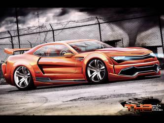 Chevy Camaro by CrashDesign