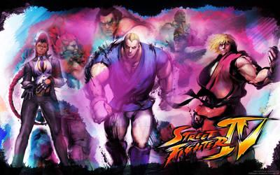 Street Fighter IV wallpaper by CrashDesign
