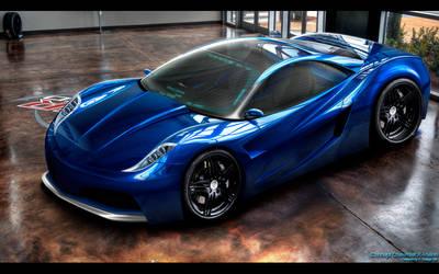 Chevrolet X-Vision by CrashDesign