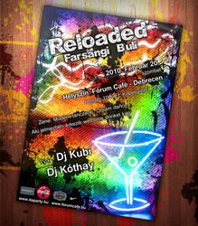 Reloaded Flyer by CrashDesign