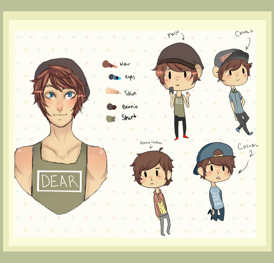 OC Reference: Alex by robotboyfriend