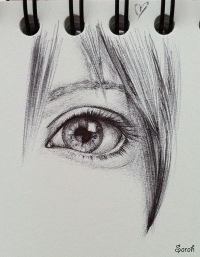 Serah's Eye by simplexcalling