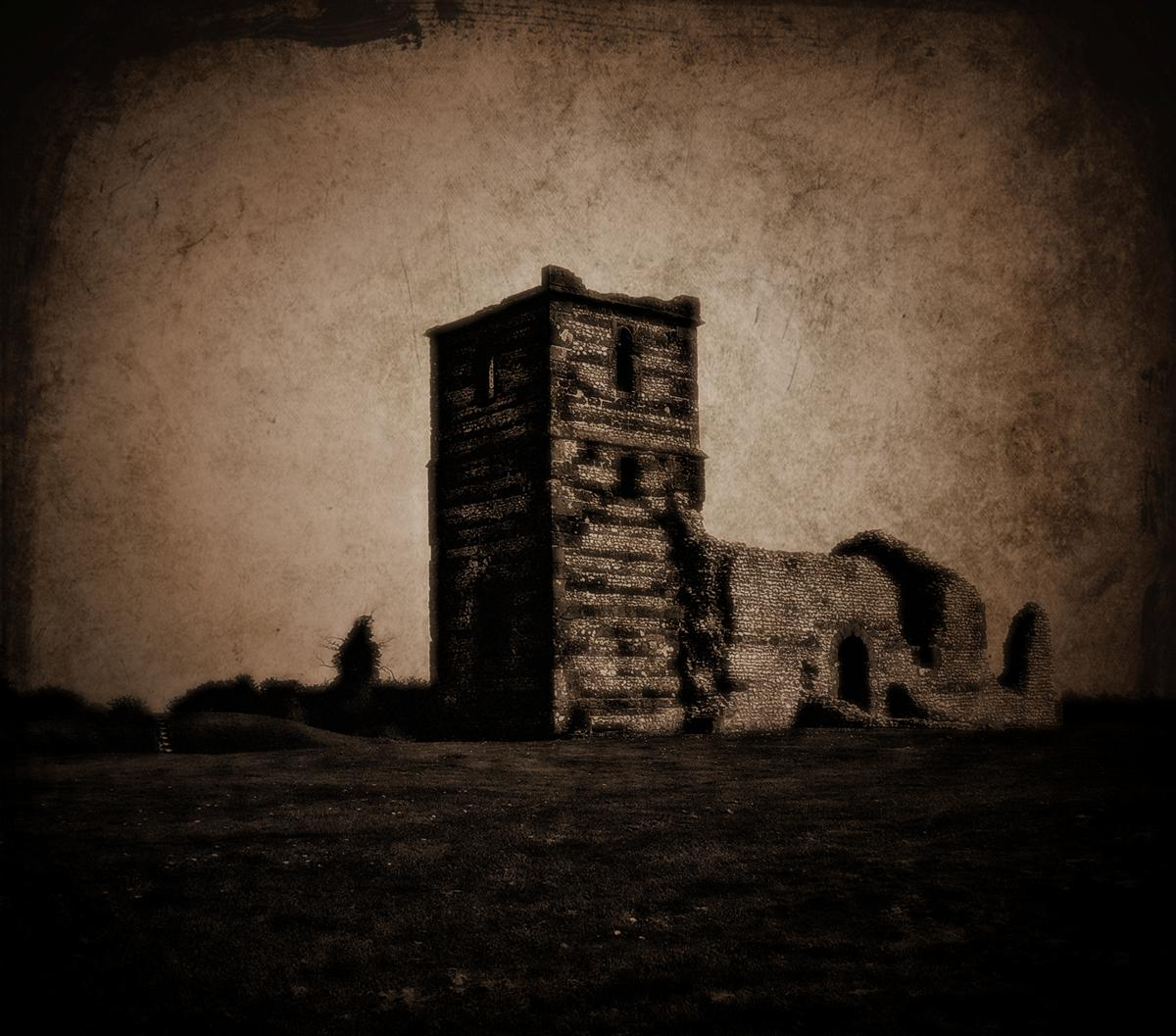 Knowlton church by awjay