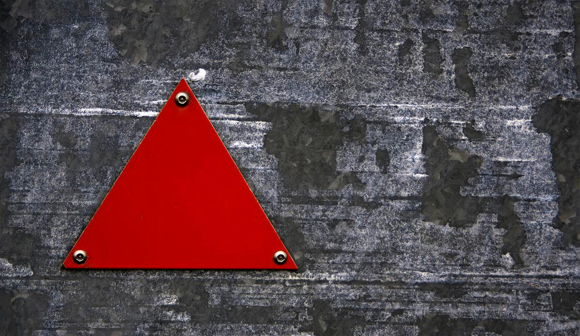 red triangle by awjay
