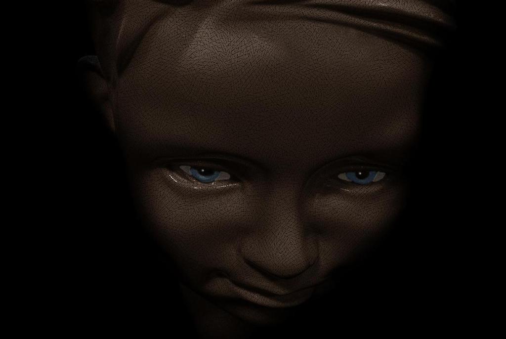 blue eyes by awjay