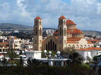 Cyprus, Paphos, Agioi Anargyroi church by awjay