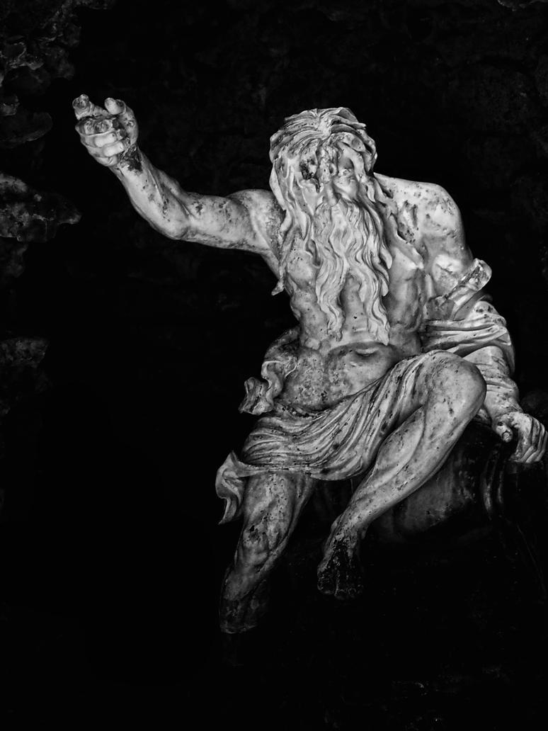 neptune, stourhead grotto by awjay