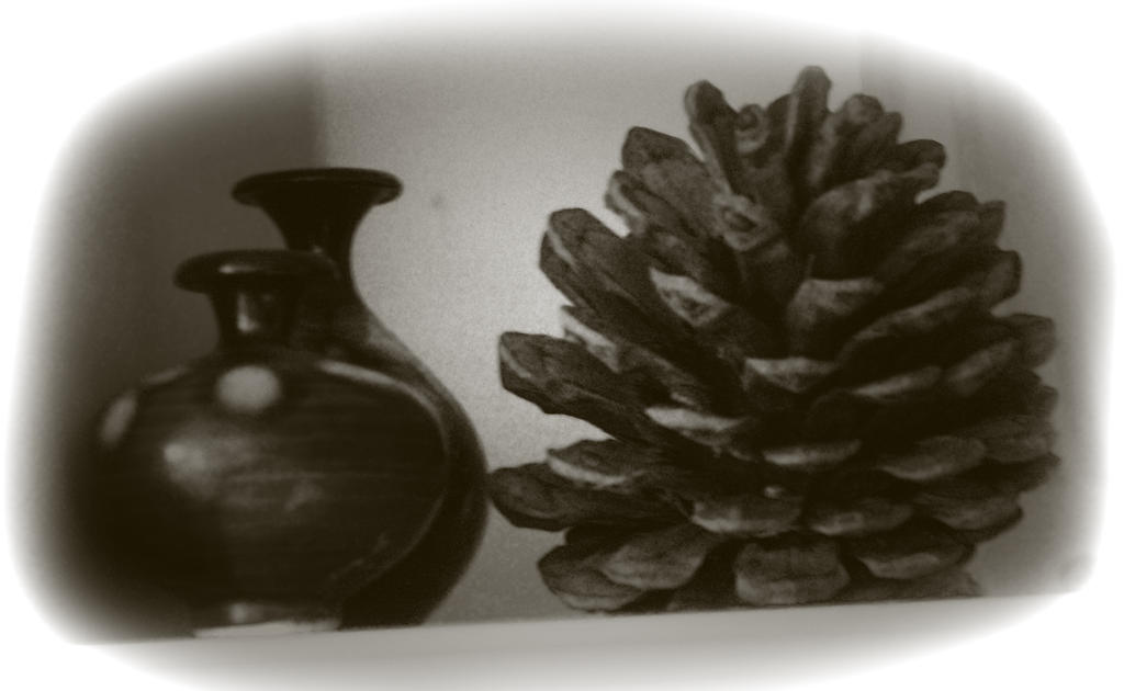 cone and pots by awjay