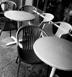 chairs for coffee by awjay