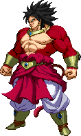 Broly Super Saiyan 4 sprite by DBSpriteFight