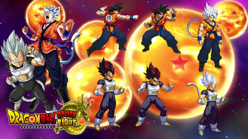 Ultimate Super Saiyan God Sprites by DBSpriteFight on DeviantArt
