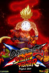 Crossover #1 Dragon Ball x Street Fighter Poster