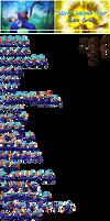 Super Saiyan Blue Son Goku (Kid Goku Palette)