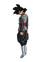 Goku Black (DBS Manga Chapter 25) Sprite by DBSpriteFight