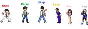 Gosei Sentai Dairanger Pokemon Sprites