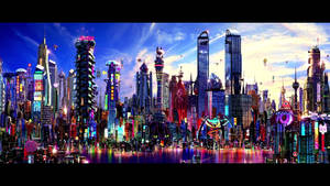 2050 Neon Osaka