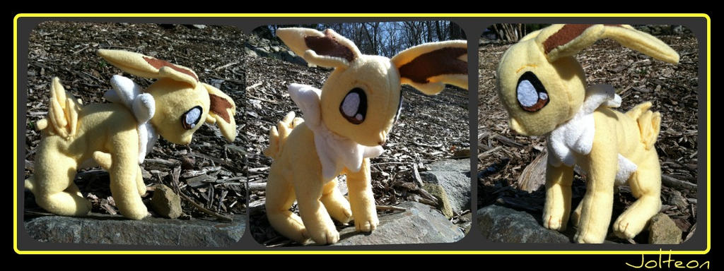 Jolteon Plush by CeltysShadow