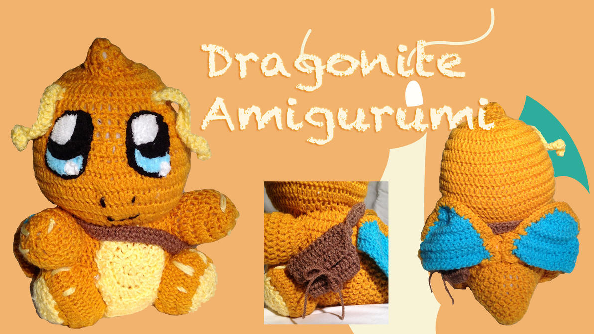 Chibi Dragonite Amigurumi by CeltysShadow on DeviantArt
