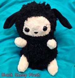 Black Sheep Plush by CeltysShadow