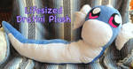 LifeSized Dratini Plush