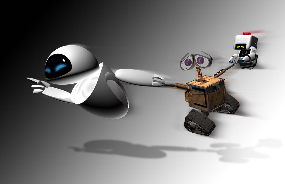 how to draw eve from wall e
