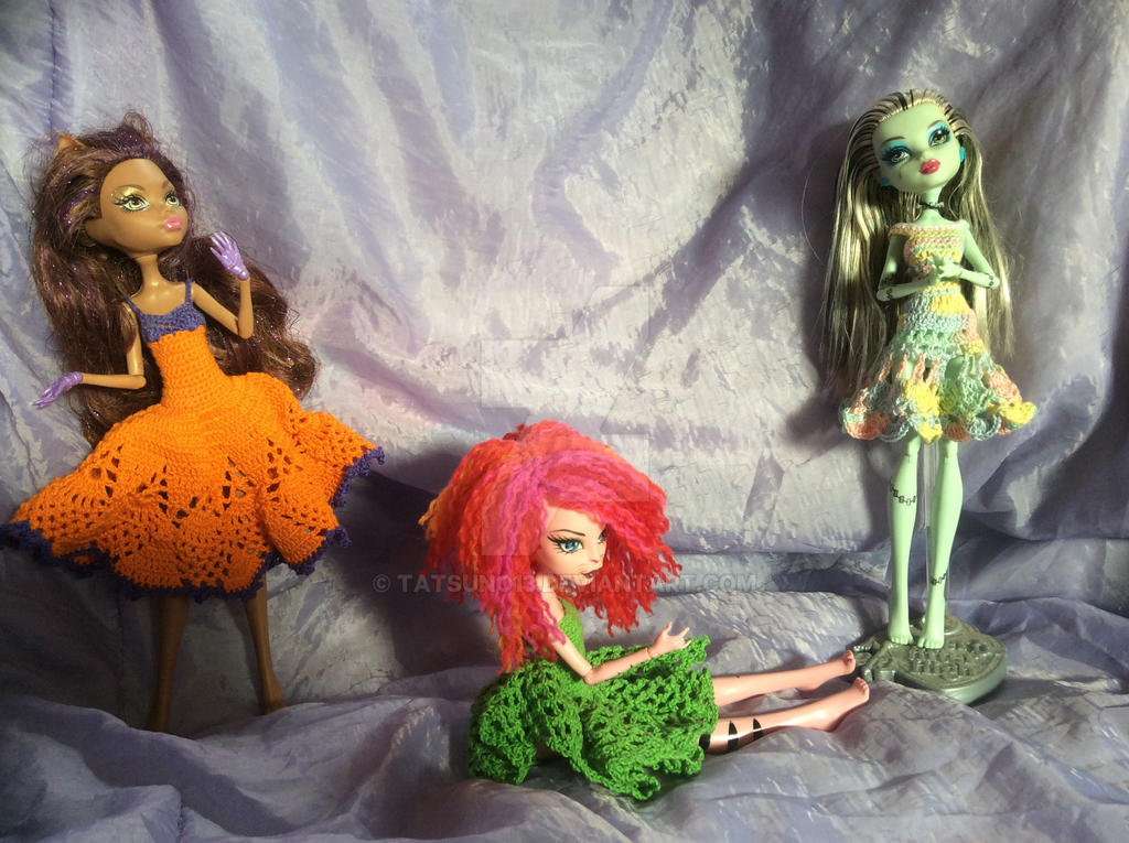 Monster High sample work by Tatsuno13